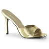 CLASSIQUE-01 Gold Metallic Faux Leather